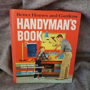 Better Homes and Gardens Handyman's Book 1974